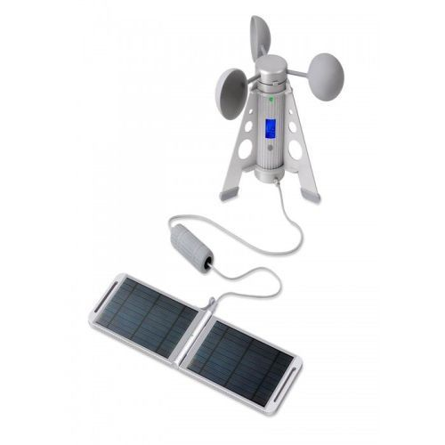 Портативная зарядная станция  Powertraveller Powermonkey Expedition Hand crank - Solarmonkey - Silver Full kit