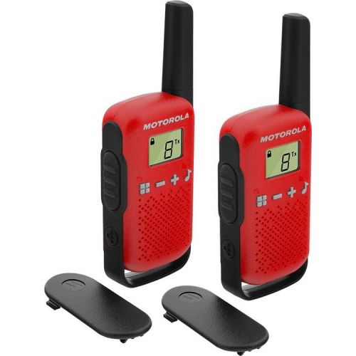 Рации Motorola TALKABOUT T42 RED TWIN PACK