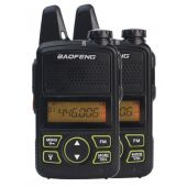Baofeng MiNi BF-T1 PMR446 edition TWIN PACK