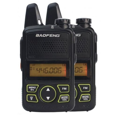 Рации Baofeng MiNi BF-T1 PMR446 edition TWIN PACK
