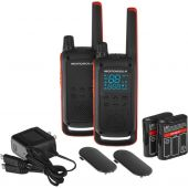 Motorola TALKABOUT T82 Twin Pack & Chgr WE